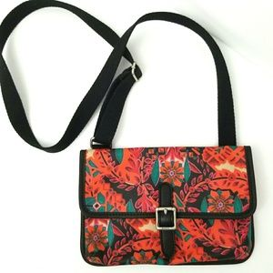 Fossil Like New Cross Body Floral Bag
